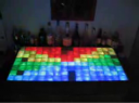 LED bar displaying a pattern