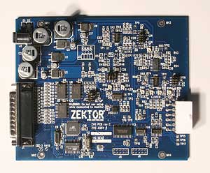 The Zektor vector generator board