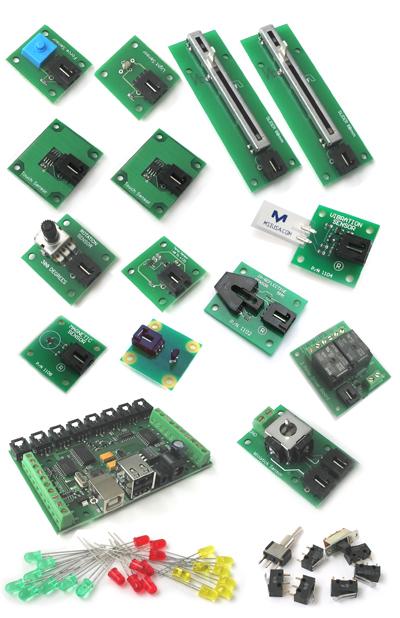 Phidgets starter kit