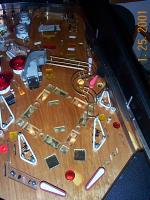 A whitewood playfield that's not so white
