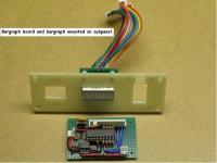 Custom hard drive LED bargraph indicator