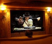 Indiana Jones themed home theatre