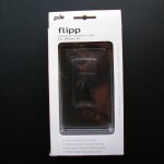 PDO Flipp case for iPhone 3G box backside