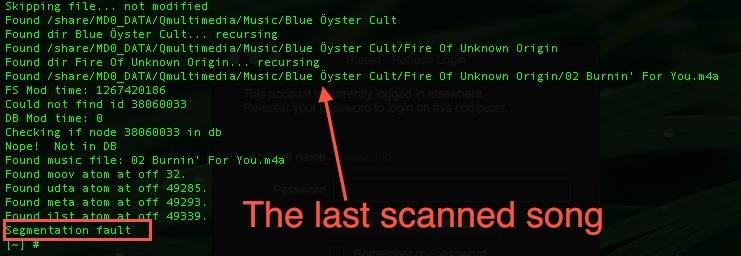 Qnap iTunes server crashed