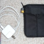 The bonus case can hold the iPad adapter and cable
