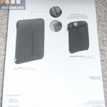 Overall photo of the case's rear panel packaging
