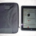 iPad and case side by side